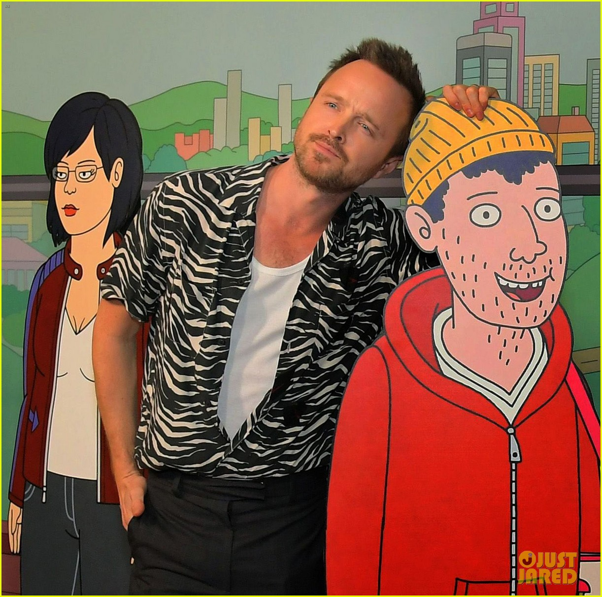 will arnett aaron paul hug it out bojack horseman finale event 254426369