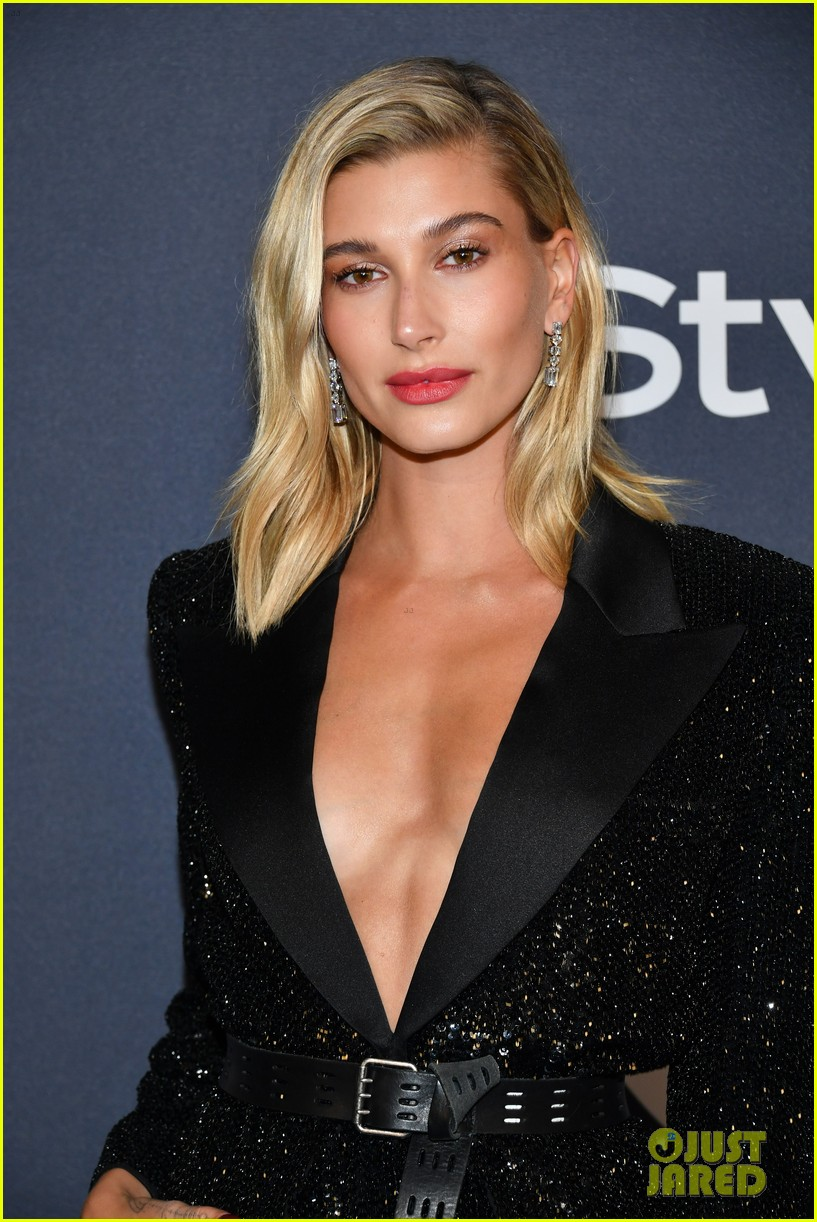 Hailey Bieber Hits Up The Golden Globes 2020 After Parties