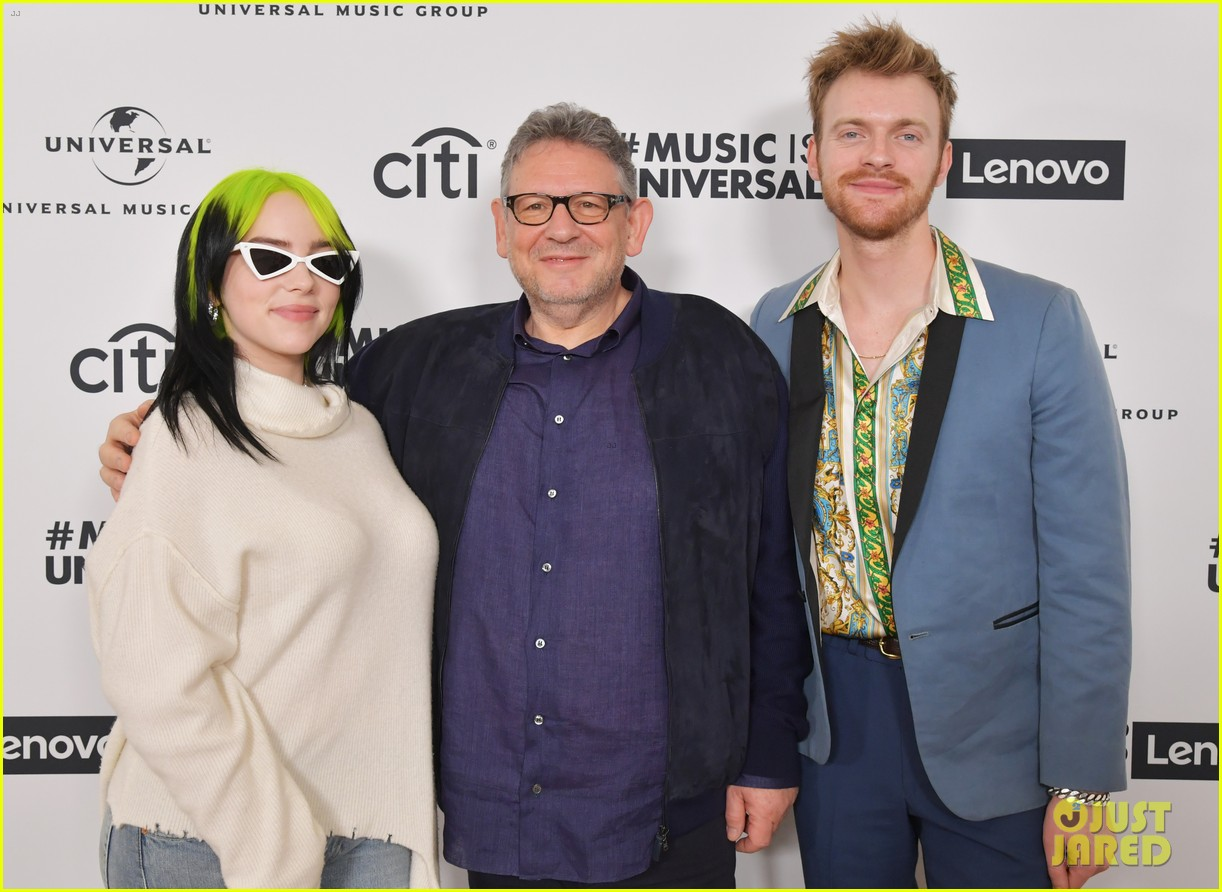 mandy moore billie eilish anthony ramos attend sir lucian grainges artist showcase 094422618