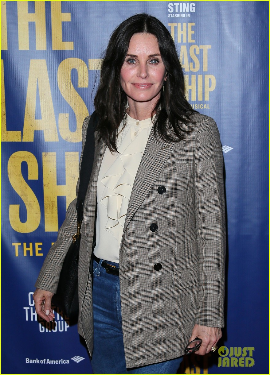 courteney cox camilla belle more celebrate the last ship opening night performance 024420583
