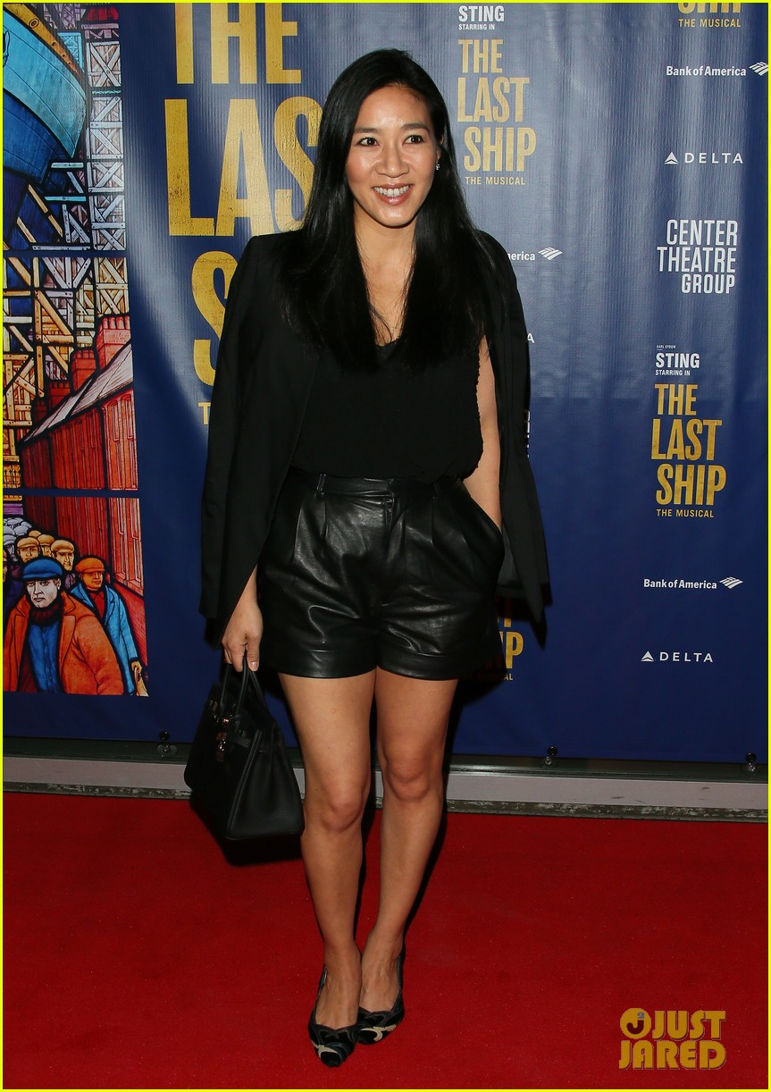 courteney cox camilla belle more celebrate the last ship opening night performance 044420585