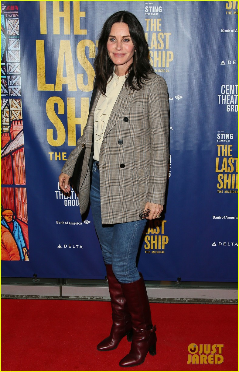 courteney cox camilla belle more celebrate the last ship opening night performance 084420589