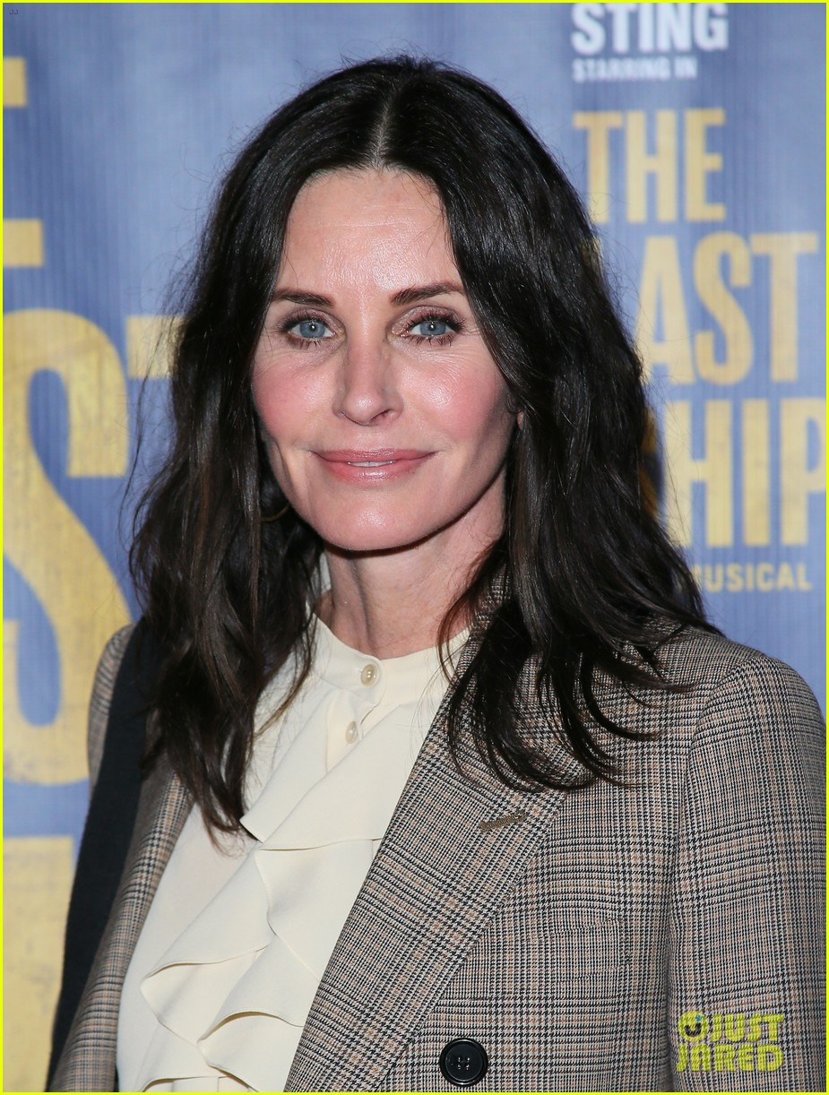 courteney cox camilla belle more celebrate the last ship opening night performance 094420590