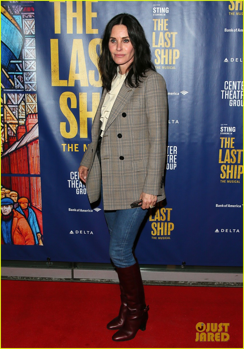courteney cox camilla belle more celebrate the last ship opening night performance 114420592