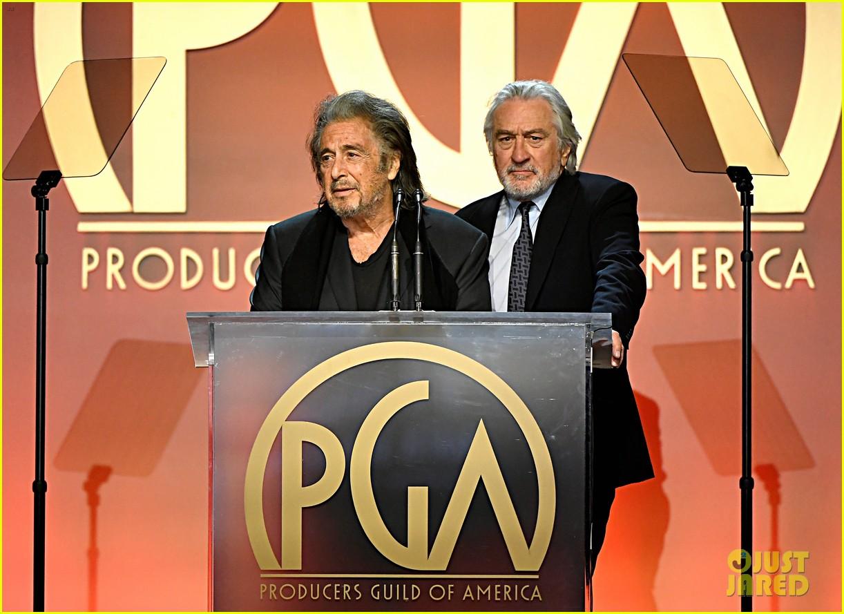 robert de niro al pacino present at producers guild awards 034417736