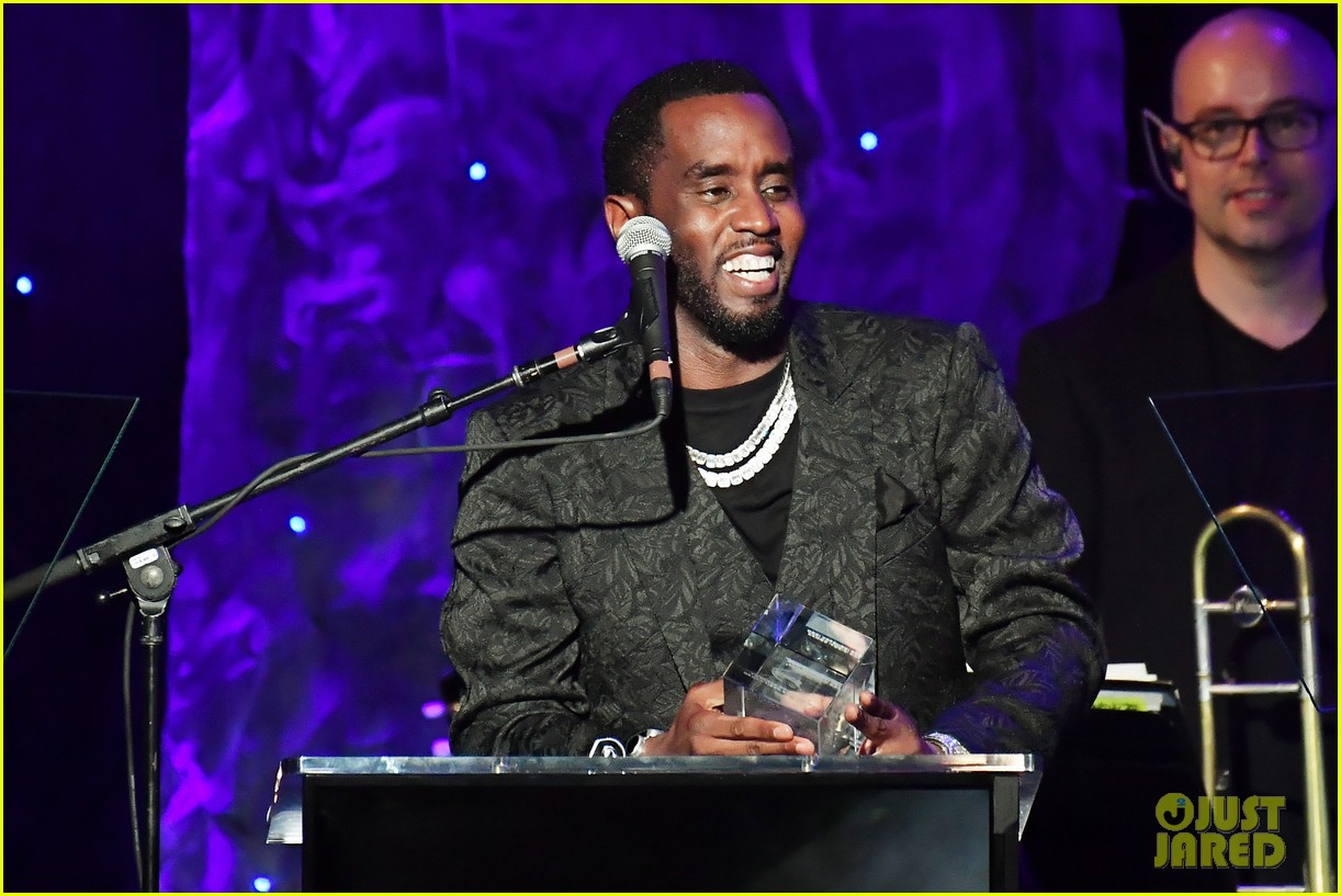 diddy joined by all six kids pre grammys gala 164422389