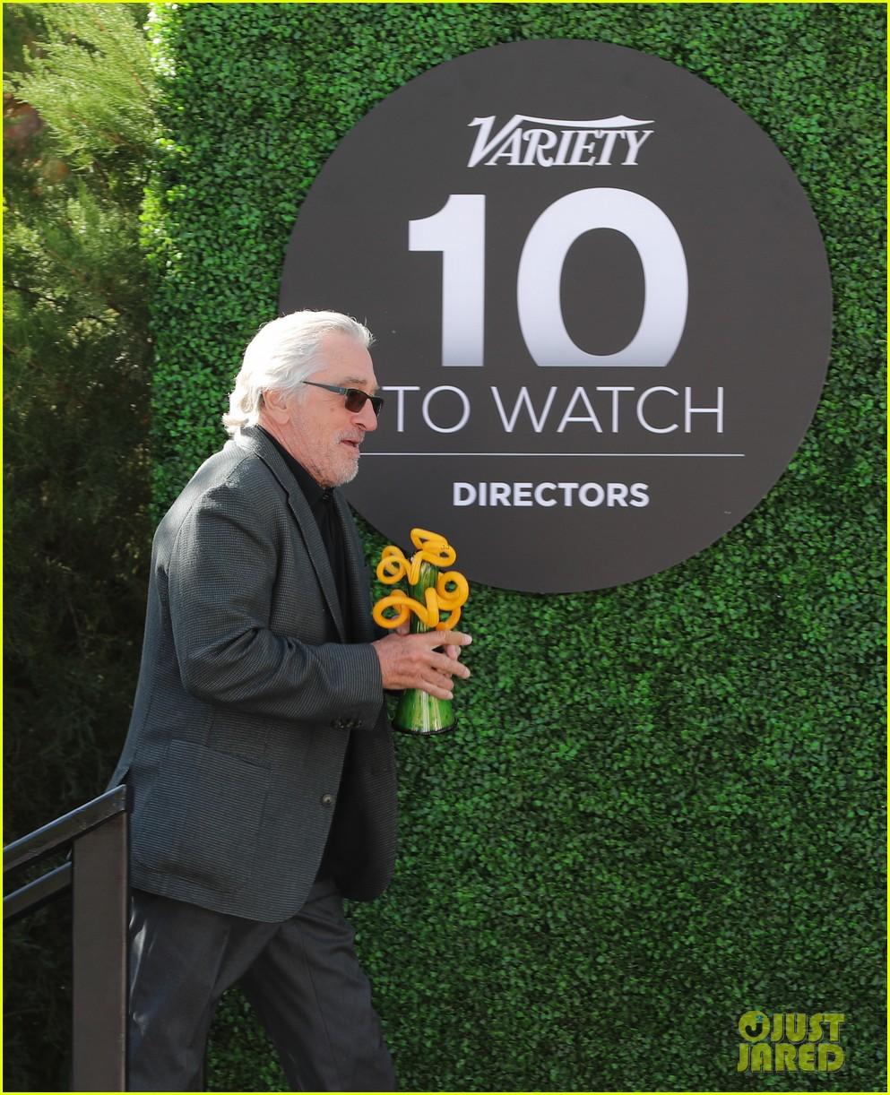 Joaquin Phoenix Runs Into Antonio Banderas At Variety's 10