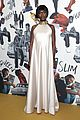 joshua jackson pregnant jodie turner smith celebrate queen slim uk premiere 06