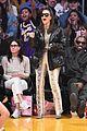 kim kardashian kanye west sit courtside lakers against khloes ex tristan thompson 01