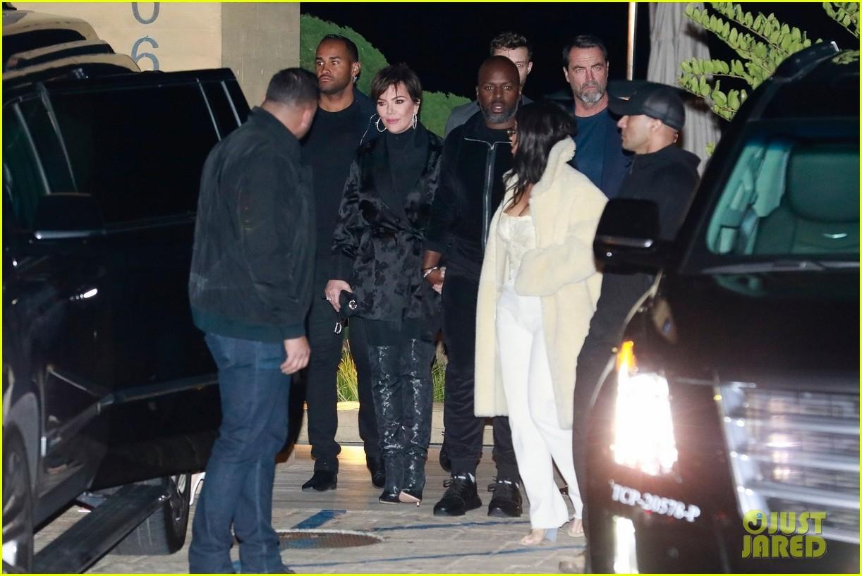 kardashian jenner family dinner at nobu 044413449