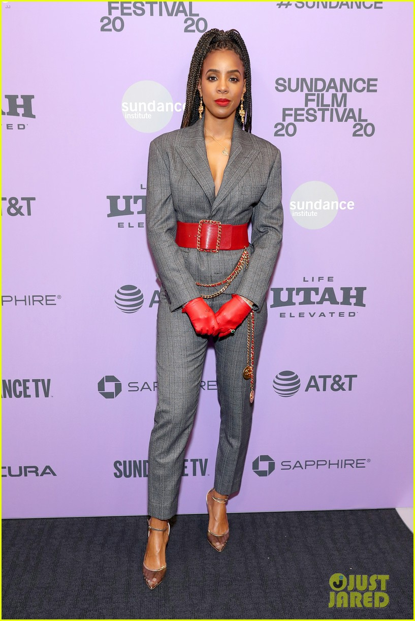 kelly rowland red gloves bad hair sundance 214421532
