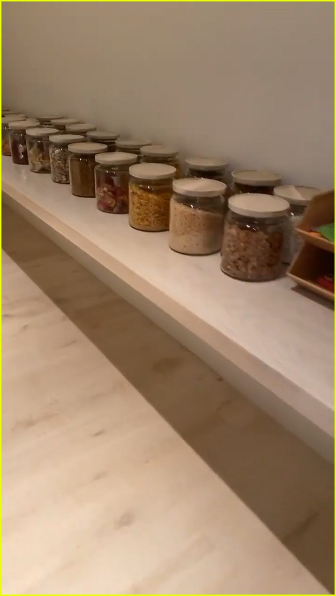 Gives Kardashian Kim Kitchen, a Tour  Her of with Complete
