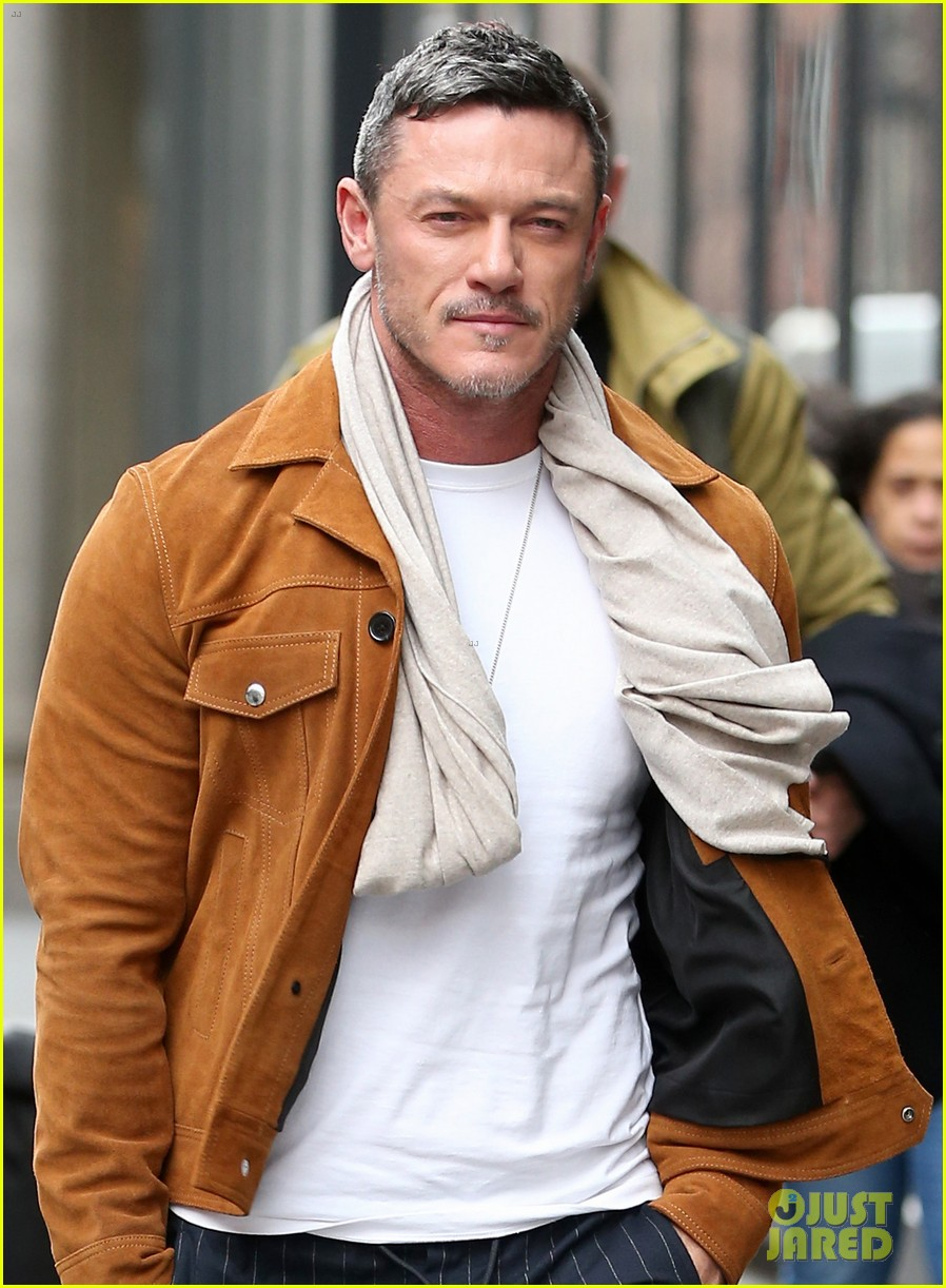 luke evans promotes his new music in nyc 024412661