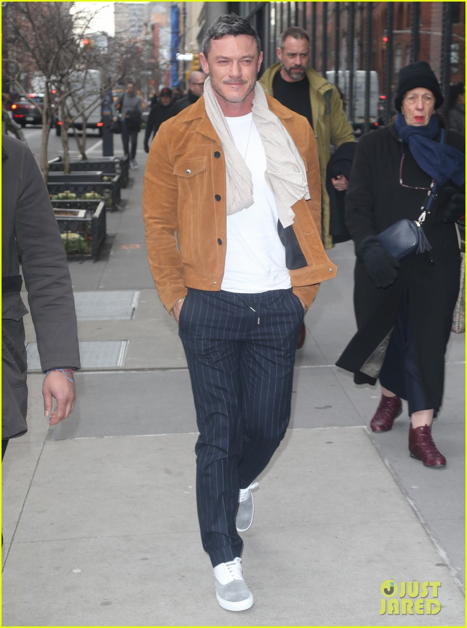 luke evans promotes his new music in nyc 034412662