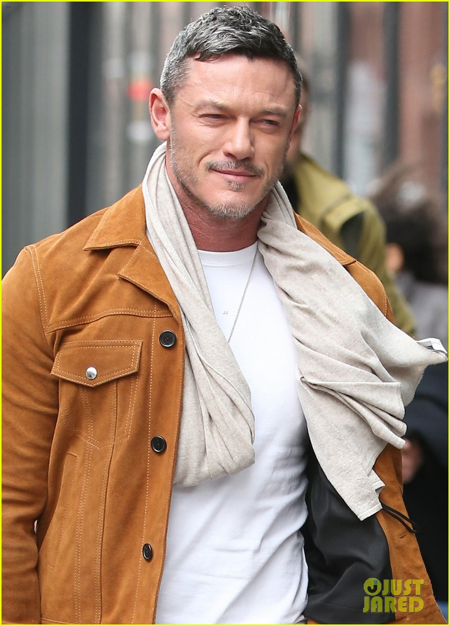 luke evans promotes his new music in nyc 044412663