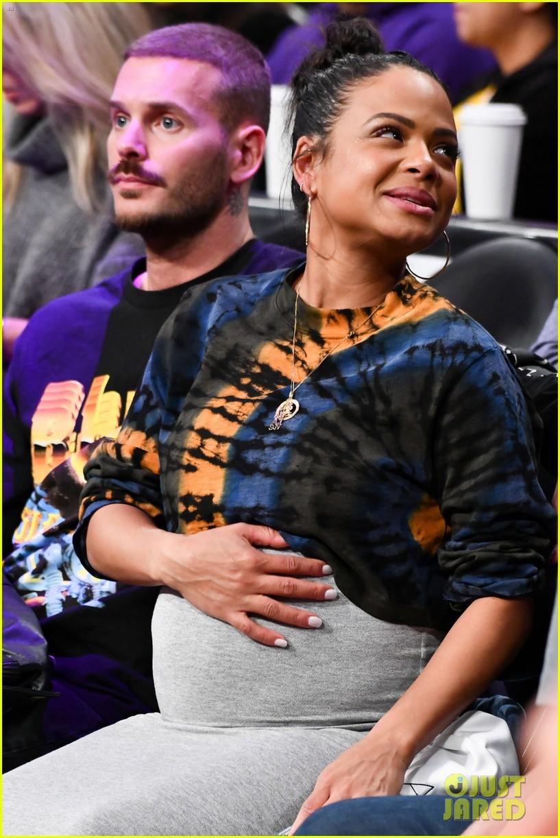 Pregnant Christina Milian & Boyfriend Matt Pokora Have