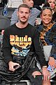 pregnant christina milian boyfriend matt pokora have date night at lakers game 02