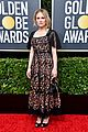 anna paquin floral look golden globes 2020 stephen moyer 01