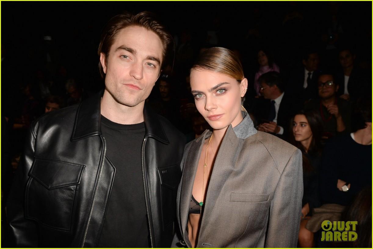 Robert Pattinson & Cara Delevingne Attend Dior Show ...