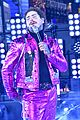 post malone hugs bts pink suit ball drop 21
