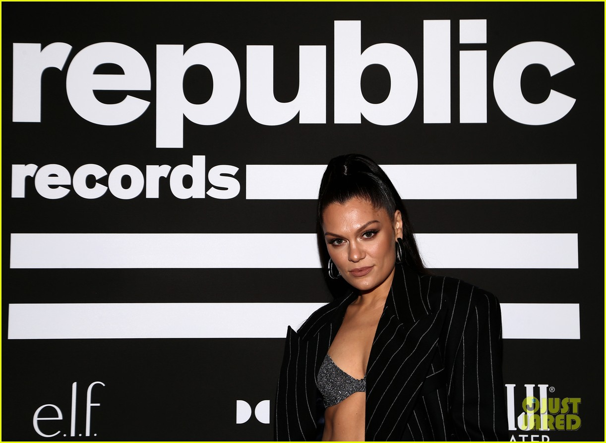 jessie j channing tatum couple up for republic records grammy after party 054424649