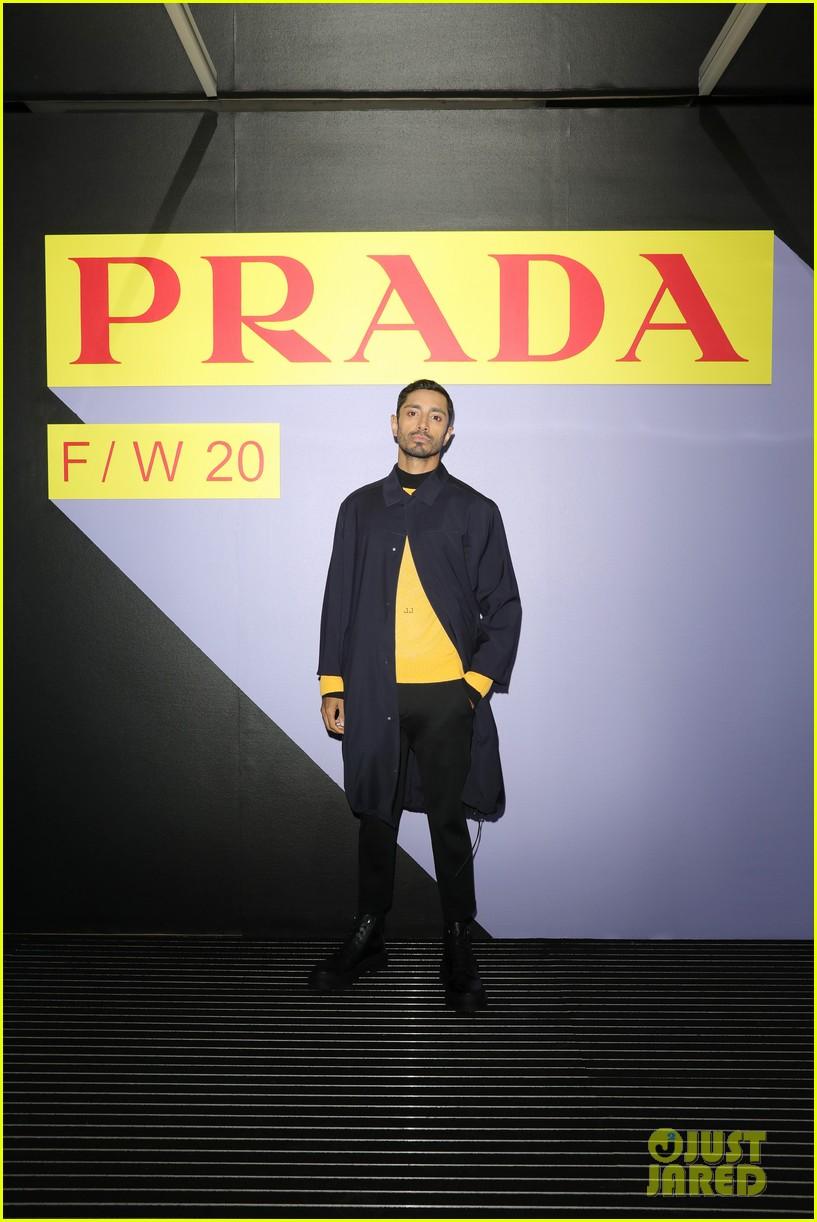 brenton thwaites joins barbara palvin dylan sprouse at prada show in milan 054415920