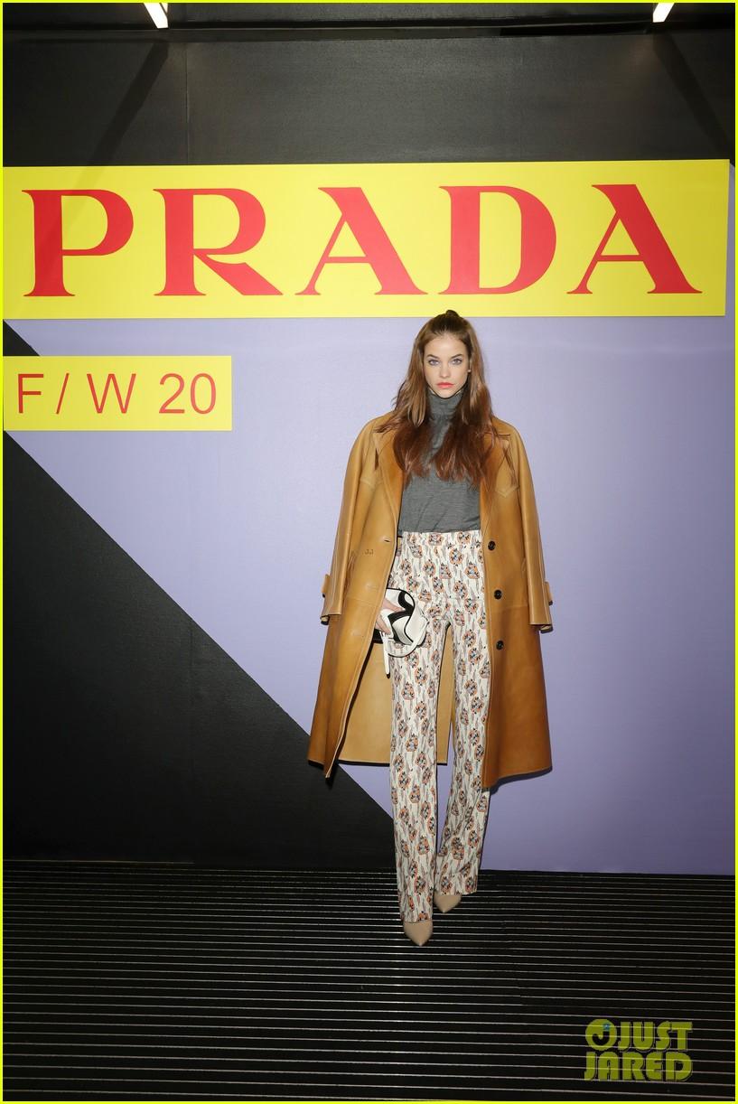 brenton thwaites joins barbara palvin dylan sprouse at prada show in milan 074415922
