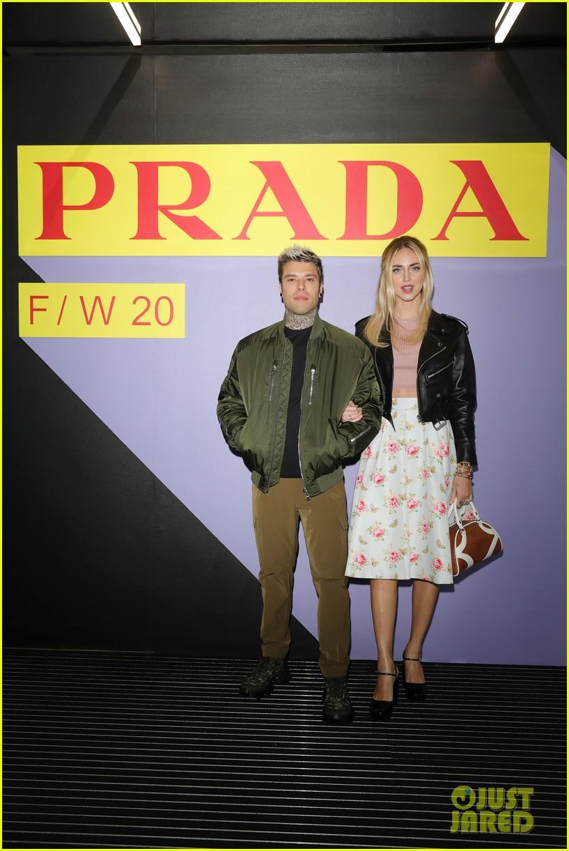 brenton thwaites joins barbara palvin dylan sprouse at prada show in milan 124415927