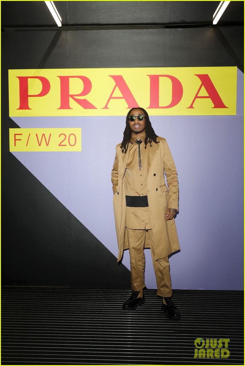brenton thwaites joins barbara palvin dylan sprouse at prada show in milan 204415935