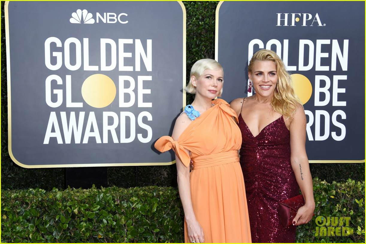 michelle williams thomas kail golden globes 2020 034410177