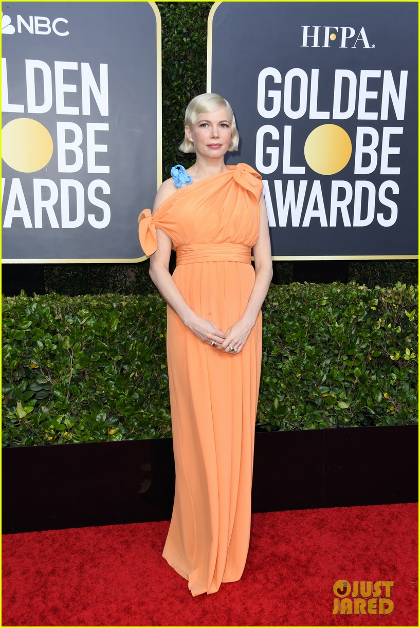 michelle williams thomas kail golden globes 2020 084410182
