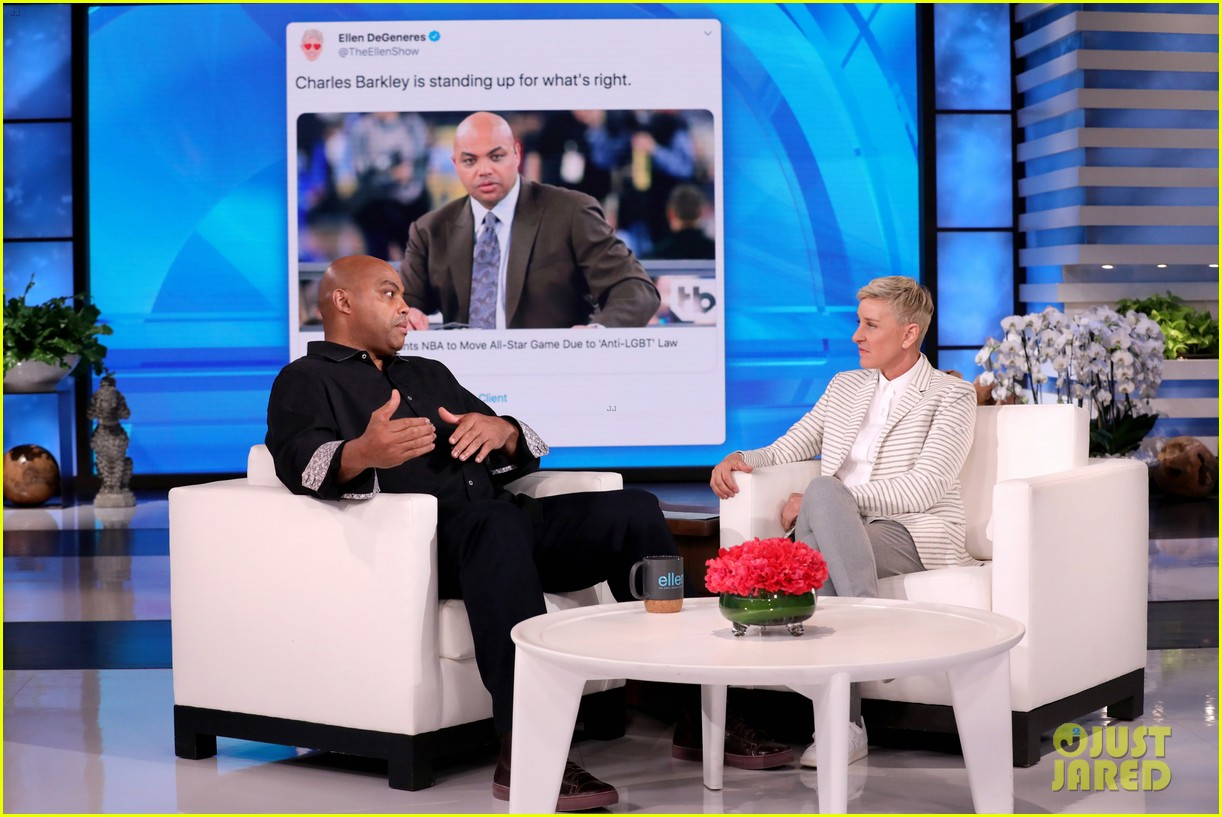 charles barkley never sit back when it comes to standing up against discrimination 014437020