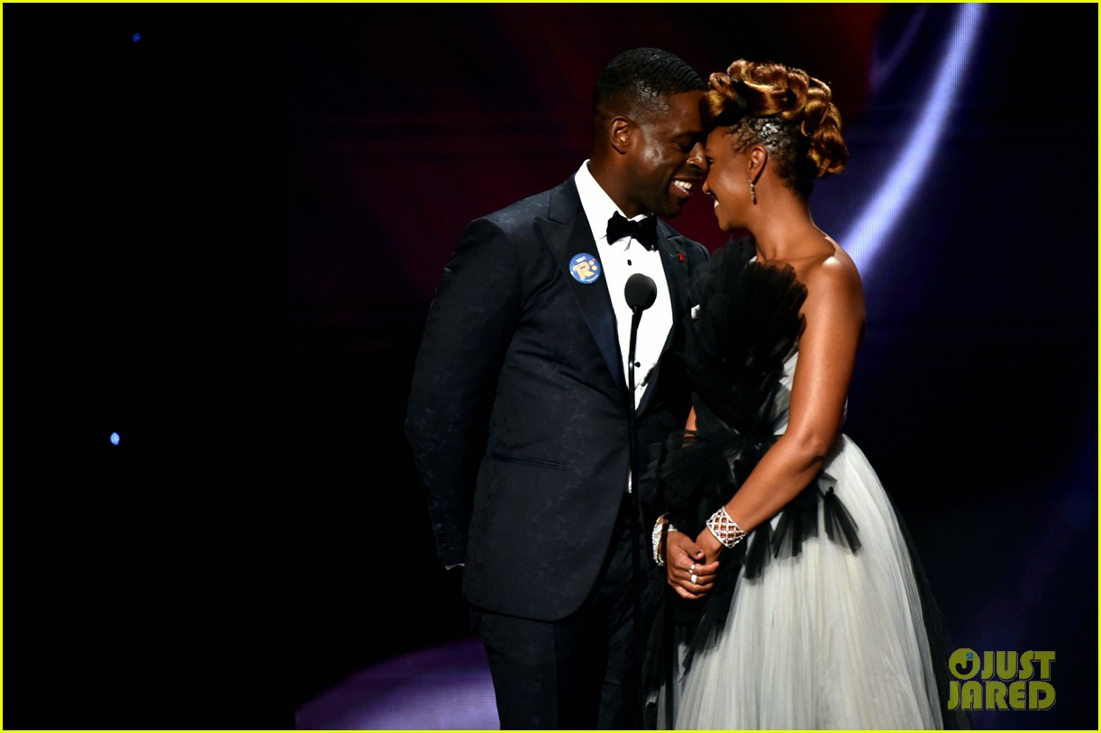 sterling k brown ryan michelle bathe couple up naacp image awards 034440957