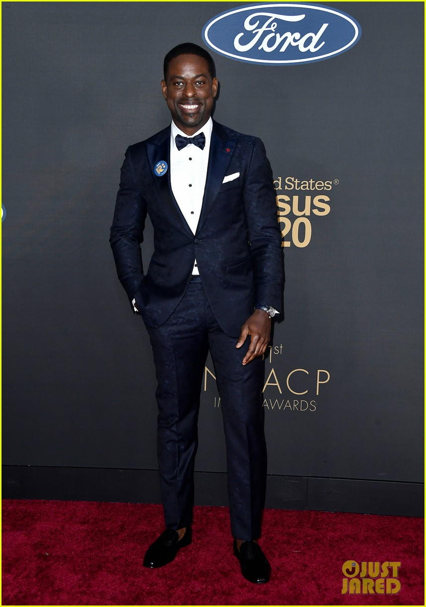 sterling k brown ryan michelle bathe couple up naacp image awards 114440965