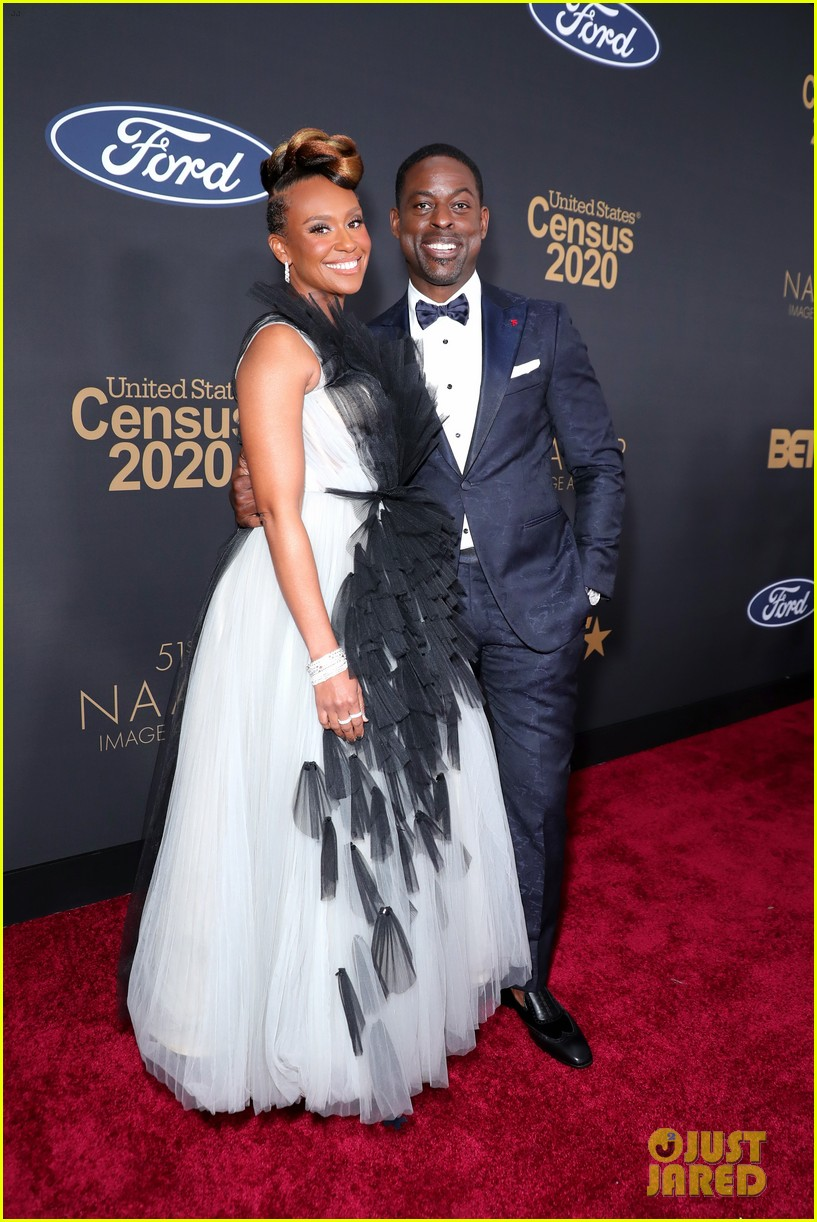 sterling k brown ryan michelle bathe couple up naacp image awards 134440967
