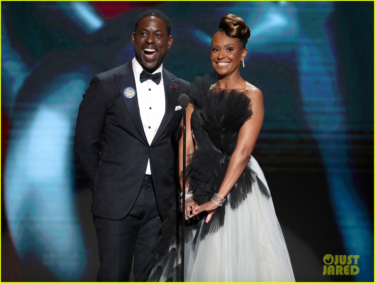 sterling k brown ryan michelle bathe couple up naacp image awards 144440968