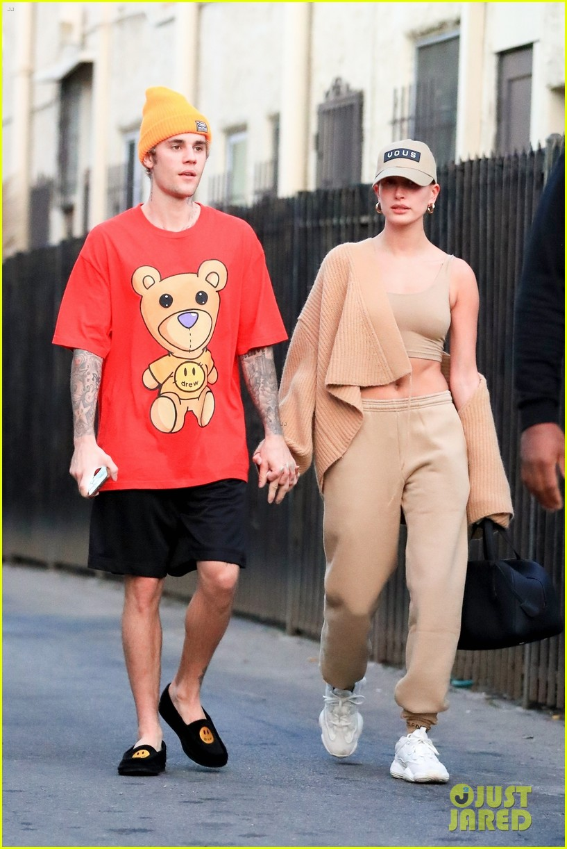 justin bieber clean shaven quality time with hailey 014438652