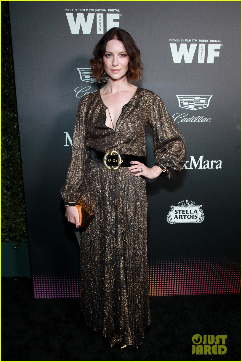 caitriona balfe idina menzel connie britton more wif oscar party 044431892