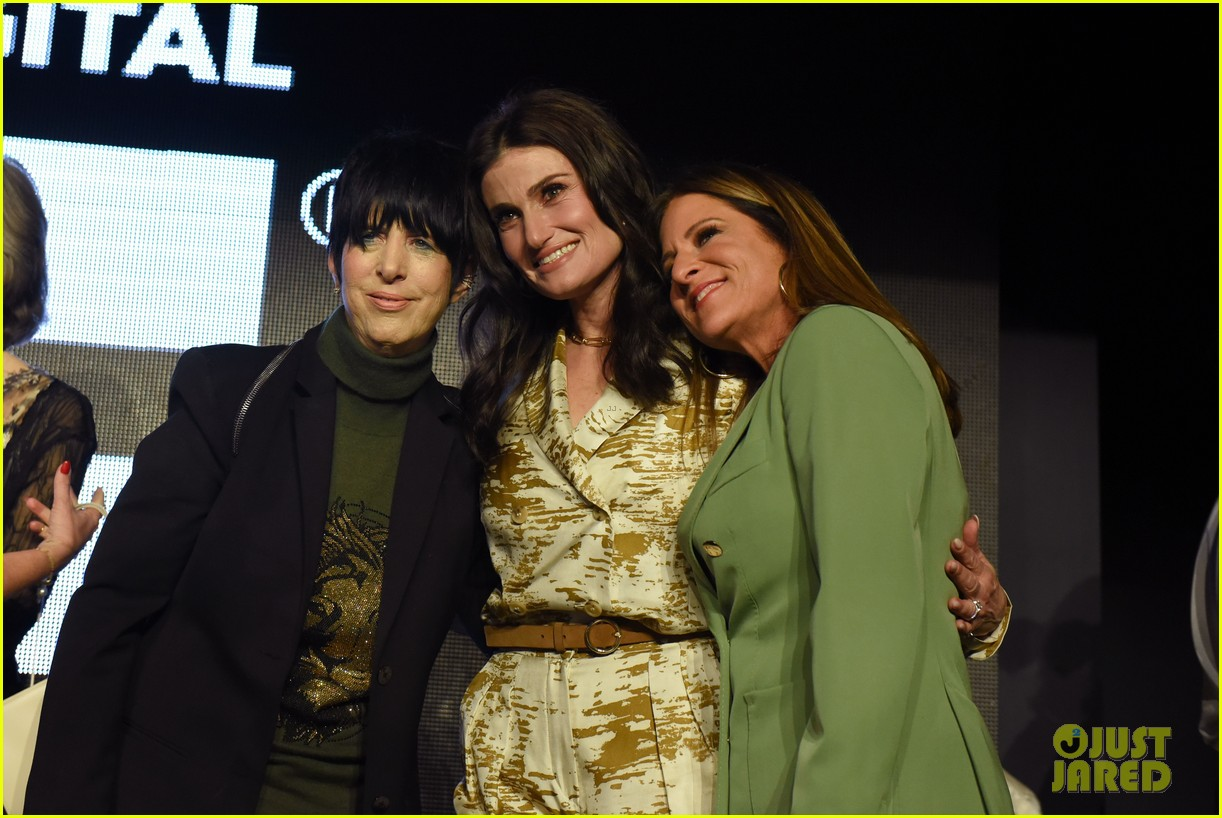 caitriona balfe idina menzel connie britton more wif oscar party 084431896