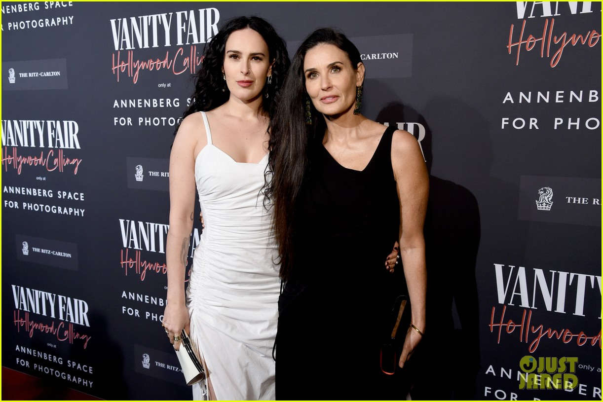 charlize theron demi moore caitlyn jenner more vf exhibit opening 274429728