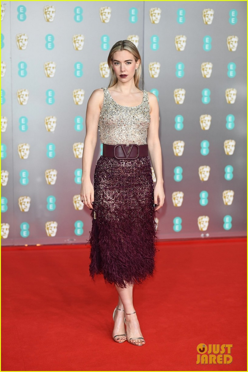 olivia colman vanessa kirby more baftas red carpet 014428391