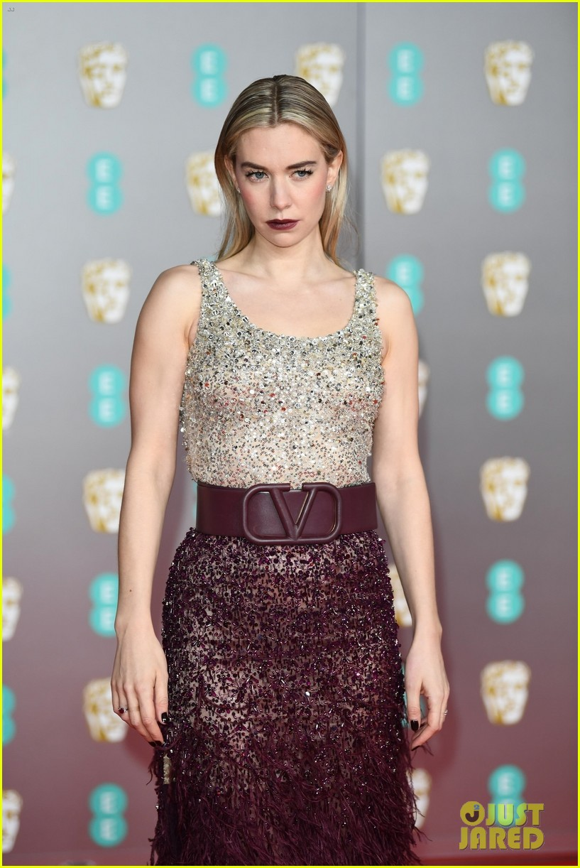 olivia colman vanessa kirby more baftas red carpet 074428397