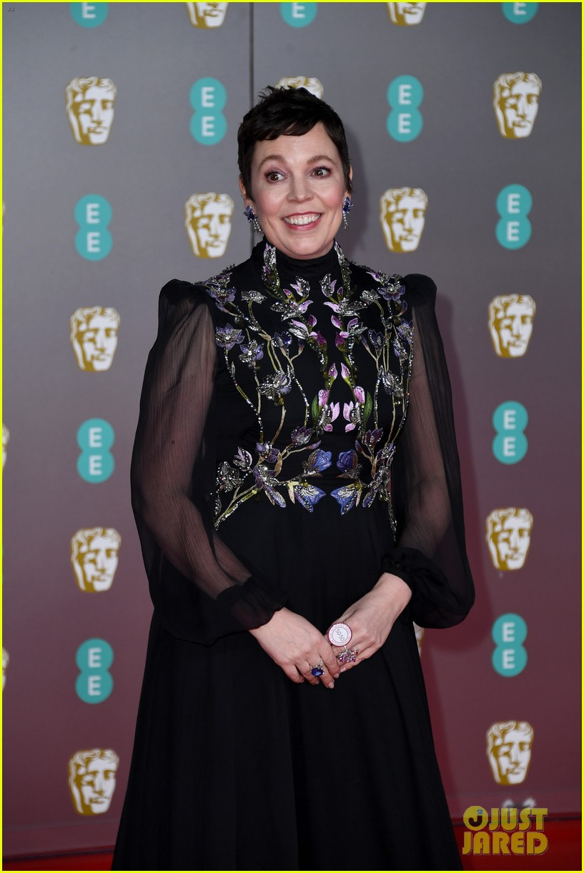 olivia colman vanessa kirby more baftas red carpet 114428401