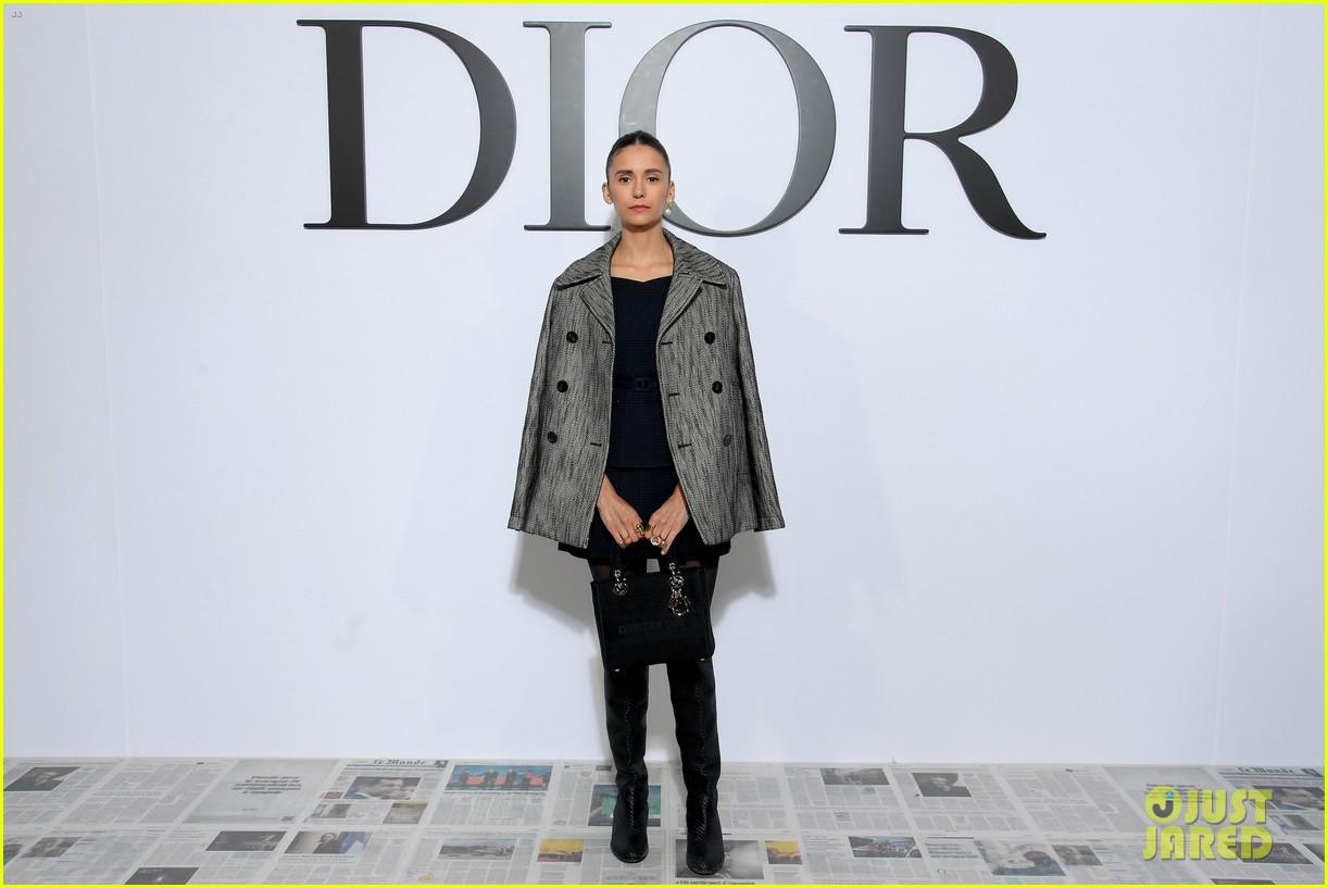 cara delevigne rachel brosnahan nina dobrev kick off paris fashion week at dior show 024441962