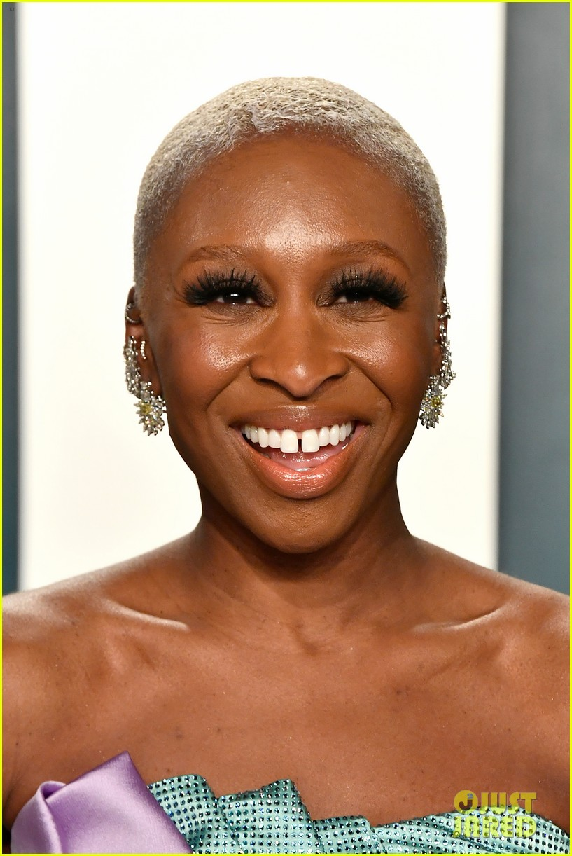 cynthia erivo billy porter idina menzel vanity fair oscar party 144435168