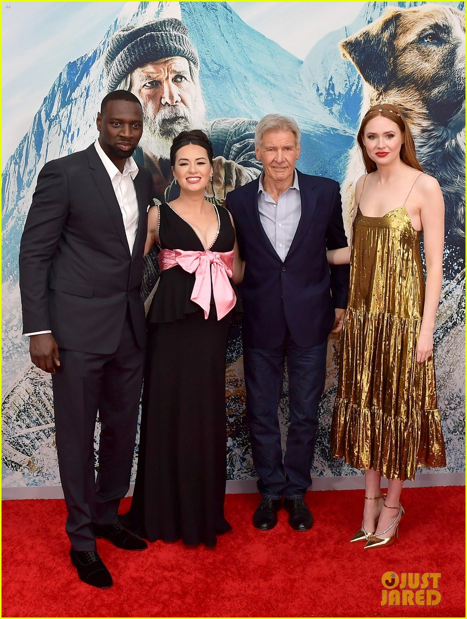 harrison ford joins his costars the call of the wild premiere 014437625