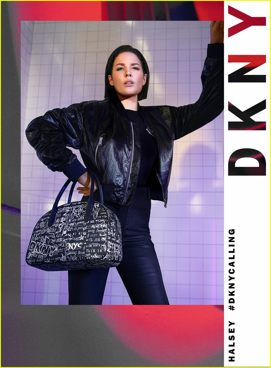 halsey rides nyc subway in dknys spring 2020 campaign 034437770