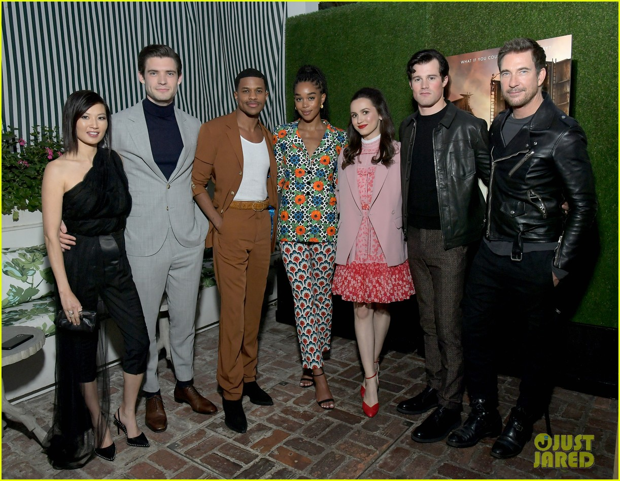 laura harrier netflixs hollywood cast present first look at tastemaker event 024441280