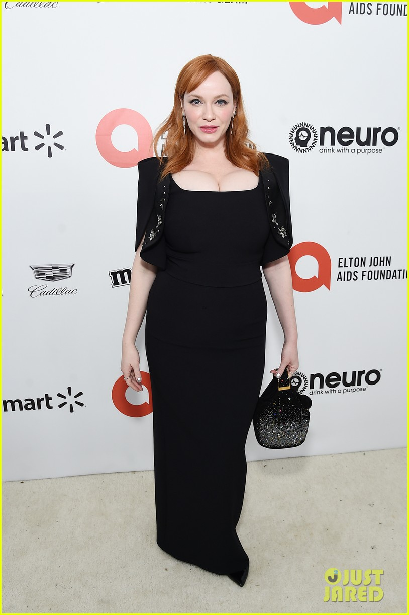 christina hendricks ashley greene christina ricci elton oscar party 014435405