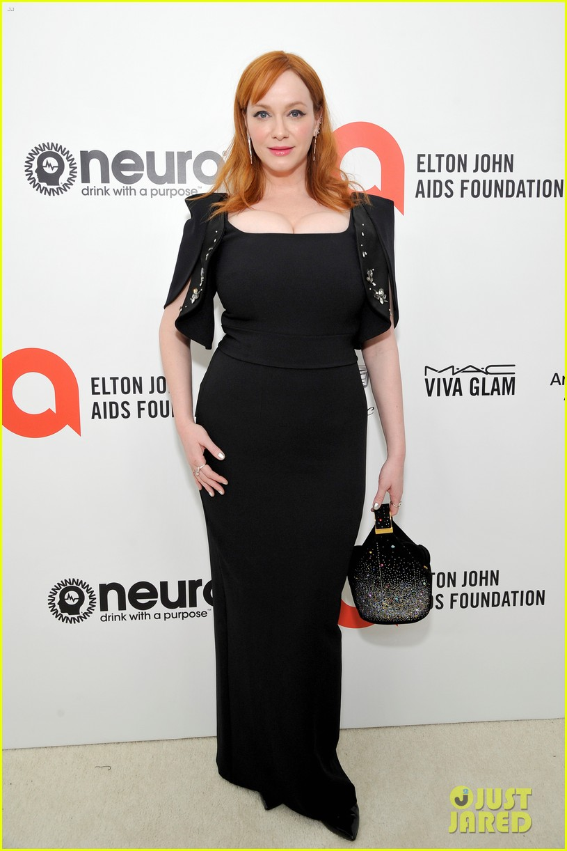 christina hendricks ashley greene christina ricci elton oscar party 244435428